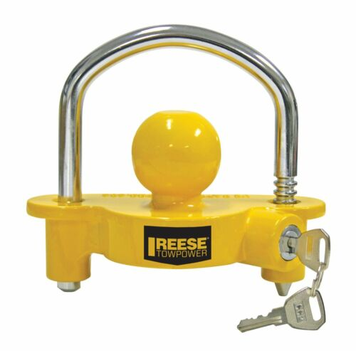 """Reese Towpower 72783 Universal Trailer Ball Coupler Lock 2"""" NEW, Free Shipping"""