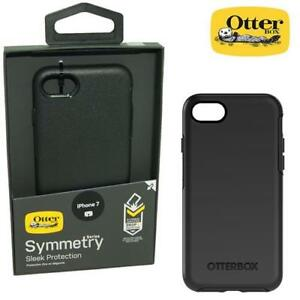 Otterbox-Symmetry-Series-Case-Housse-pour-Apple-iPhone-7-8-Veritable-Noir-Nouveau