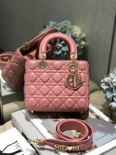 Christian Dior Medium Lady Dior Bag - pink