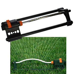 Oscillating Water Sprinkler Sprayer for Lawn amp Garden Yard