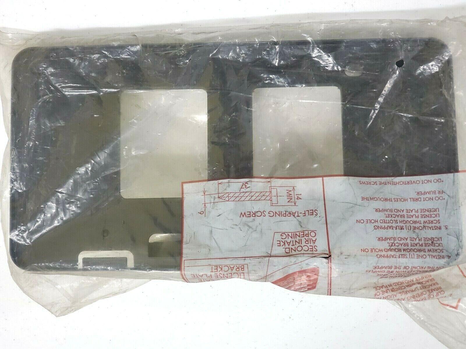 OEM TOYOTA CAMRY SE FRONT LICENSE PLATE HOLDER  52114-06170 FITS 2012-2014