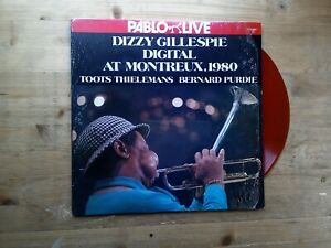 Dizzy-Gillespie-Digital-At-Montreux-1980-VG-RED-Vinyl-Record-Pablo-Live-D2308226
