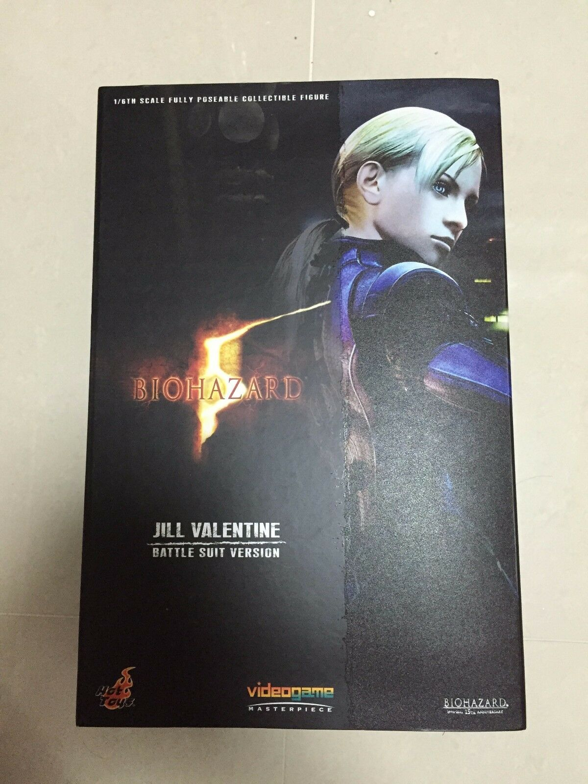 Hot Toys VGM 13 Resident Evil Bio Hazard Jill Valentine  Battle Suit Ver  NEW