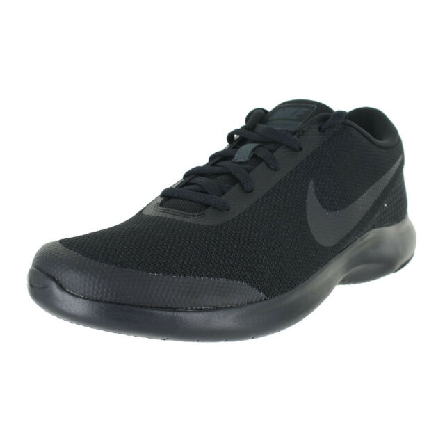 359ddc744d0c NIKE NIKE FLEX EXPERIENCE RUN 7 (4E) BLACK ANTHRACITE AA7405-002 MENS US