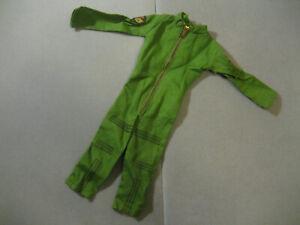 Vintage-Ideal-Captain-Action-Steve-Canyon-Original-Green-Uniform-Jumpsuit