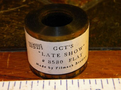 35mm Film Movie Trailer GCT'S LATE SHOW #8580 Flat