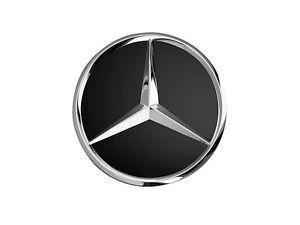 Radnabenabdeckung Stern erhaben verchromt Original Mercedes Benz 4 St/ück