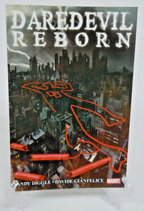 Daredevil-Reborn-Collects-1-2-3-4-Diggle-Marvel-Comics-TPB-Trade-Paperback-New