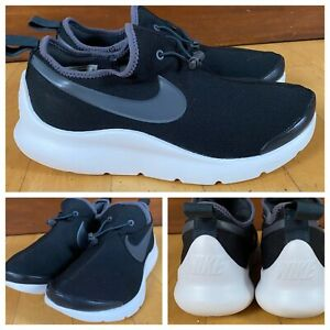 nike aptare essential casual shoes black white running