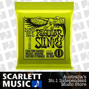 Ernie-Ball-2221-Regular-Slinky-10-46-Electric-Guitar-Strings-BRAND-NEW