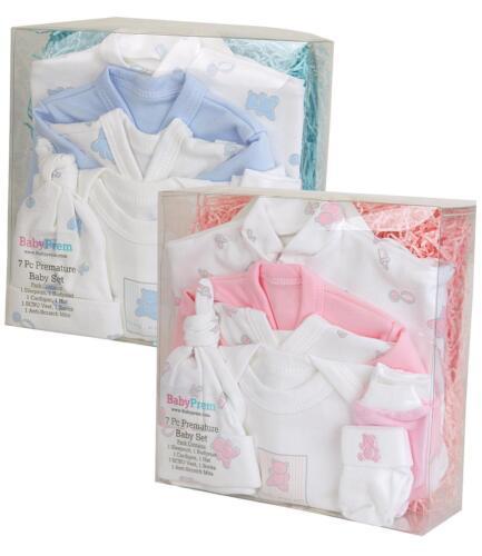 Babyprem bebé prematuro en Caja Conjunto de Regalo 7pc Layette Starter Set Bebé Prematuro Ropa