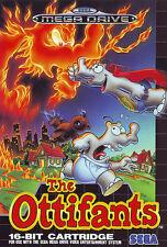 ## SEGA Mega Drive - The Ottifants / Die Ottifanten - TOP / MD ##