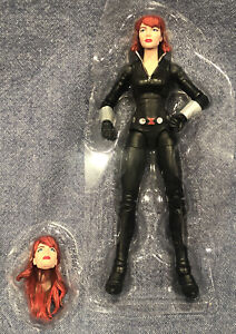 "Marvel Legends 6/"" Inch Deluxe Motorcycle Rider Black Widow Loose Complete"