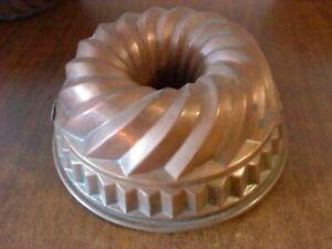 Kuchenform 16 cm Kupfer Alte Backform Guggelhupf