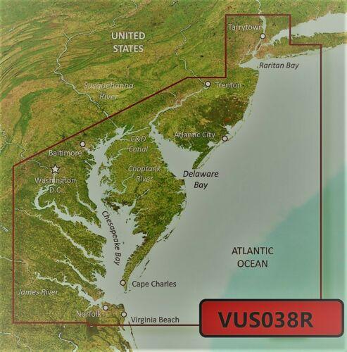 VUS038R BlueChart G3 Vision MARINE GPS MAP micro SD//SD FOR GARMIN GPS//SOUNDER