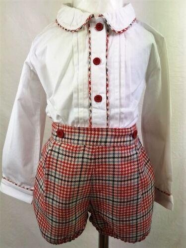 Baby boys  Mabini kids Spanish Romany Style Shirt /& shorts 3 months 4 years