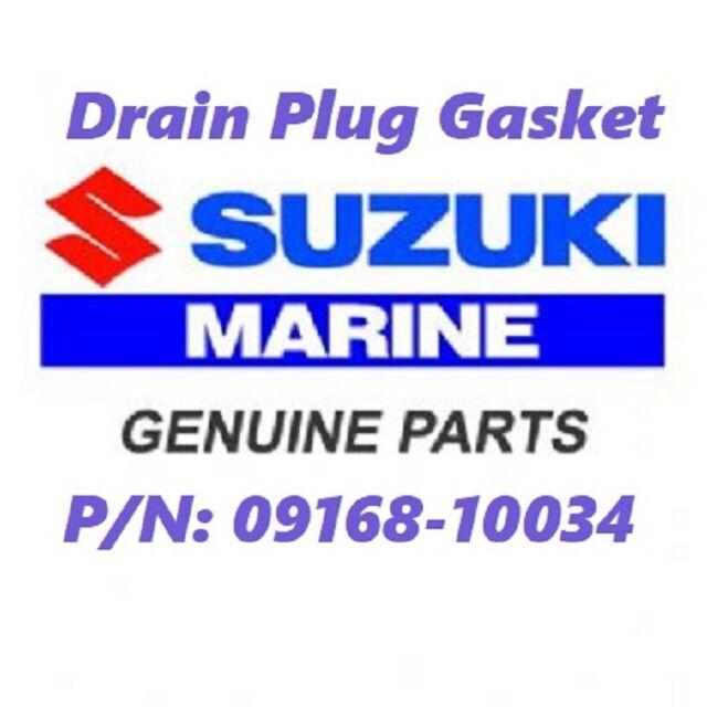 OEM Suzuki 09168-10034 Drain Plug Gasket NOS