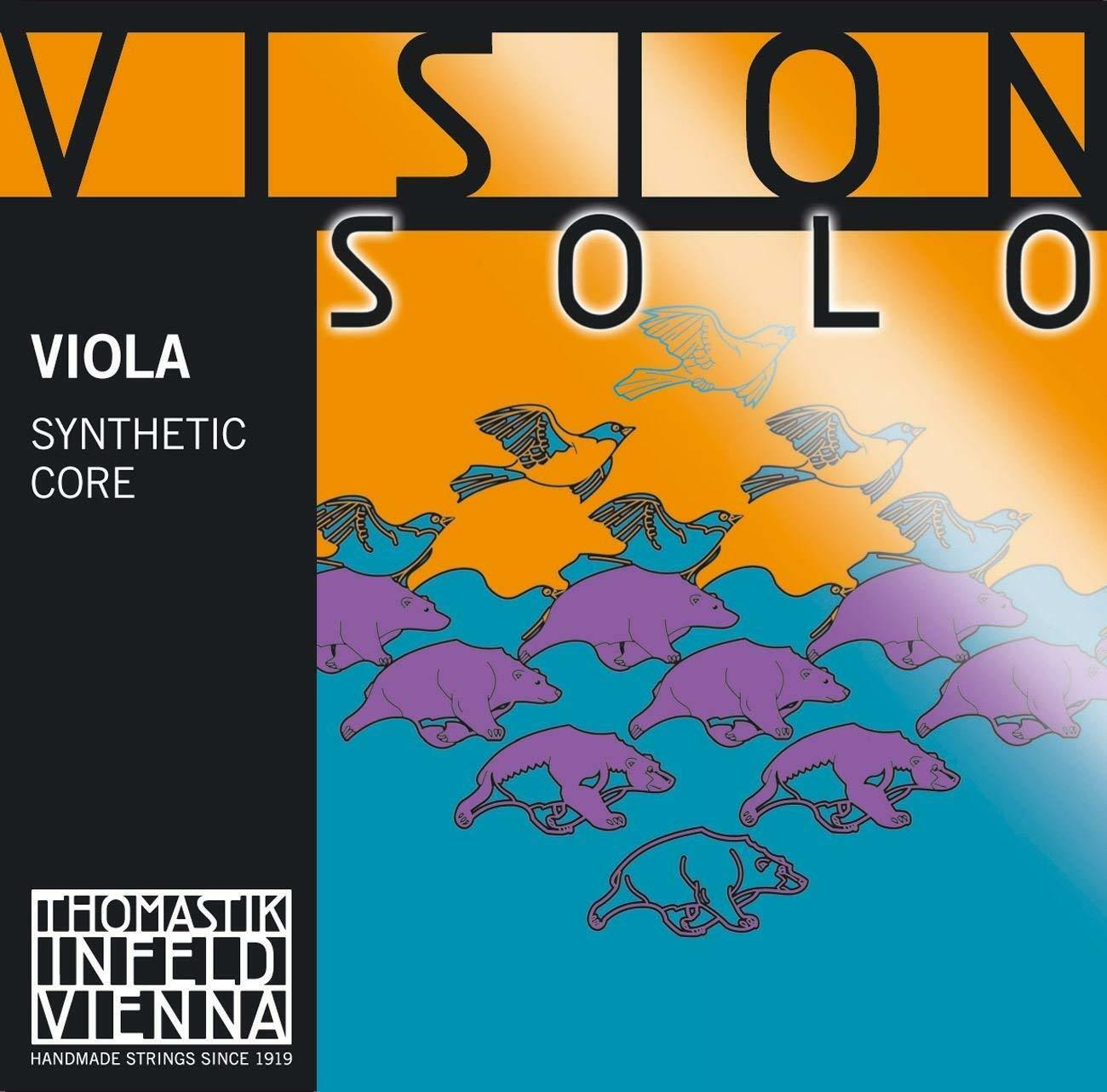 Thomastik Infeld Vision Solo Viola String Set - Full Größe - Medium Gauge