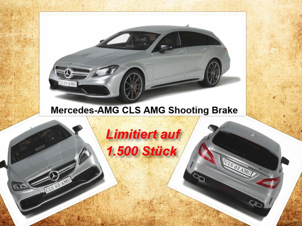 Mercedes-AMG CLS 63 AMG Shooting Brake limitée 1.500 Pièces GT SPIRIT 1 18 NEUF