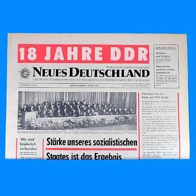 53 52 51 DDR Neues Deutschland Januar 1970 Geburtstag Hochzeit 49 50 54 SED