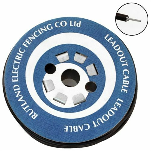LEAD OUT CABLE 50M - Electric Fencing Fence Mains Horse