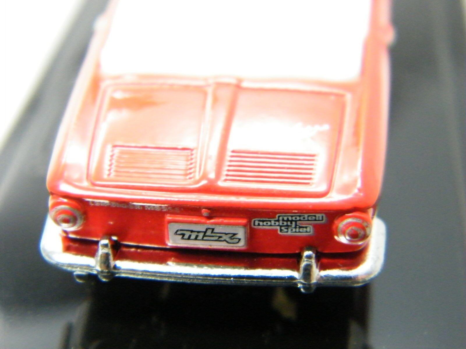 Matchbox 2013 Leipzig Volkswagen Karmann Ghia Type 34 converdeible converdeible converdeible rojo en el crystal Case 122dfe