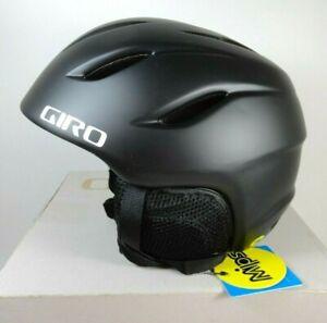 GIRO-Nine-Jr-Mips-Snowboard-Snow-Sports-Helmet-Youth-Sz-Medium-Matte-Black