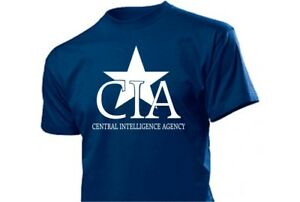Cia-Central-Intelligence-Agence-Camiseta-Nsa-Fbi-USA-Gr-3-5XL-Agent-Policia
