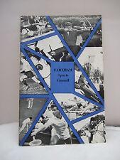 Fareham Sports Council Guide - Illustrated 1960s