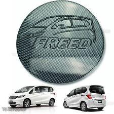 Fuel Oil Tank Kevlar Carbon Cover Trim Fit Honda Freed Hatchback 2010-2016