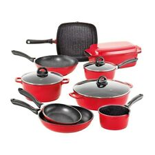BC STONE COOKSET 10PC RED