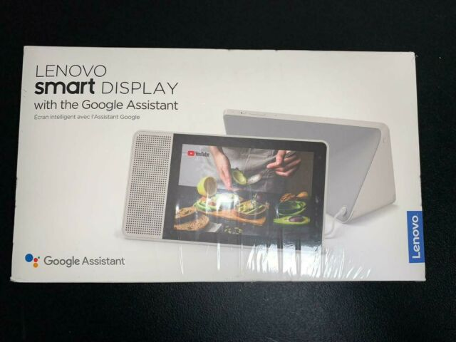 "Lenovo Smart 8"" Display with Google Assistant- BRAND NEW SEALED"