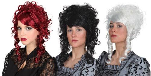 Orl Damen Perücke zum Barock Kostüm Karneval Fasching Vampirin
