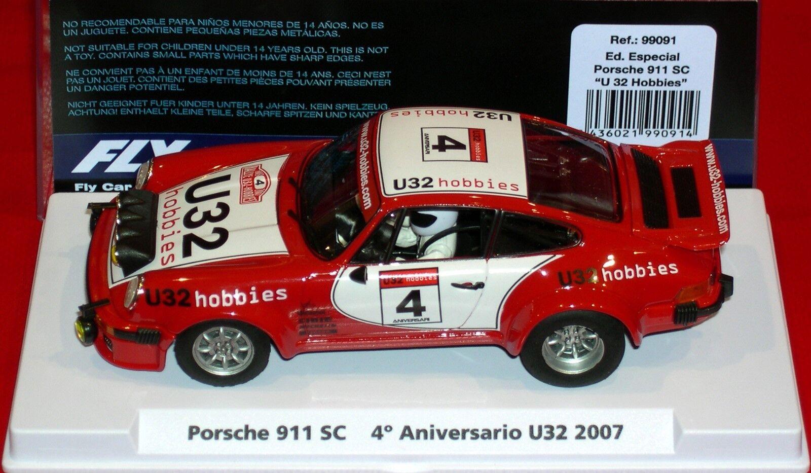 Qq 99091 FLY PORSCHE 911 SC U32 LOISIRS IV ANNIVERSAIRE 2007 EDITION LIMITÉE 300