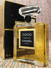 Vintage mid-1990s Chanel COCO 1/2 oz 15 ml Pure Parfum SEALED Boxed OLD FORMULA
