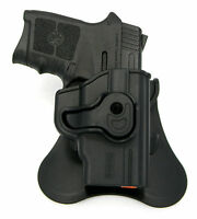 Tagua Push Button Locking Rotating Kydex Owb Paddle Holster - S&w Bodyguard 380