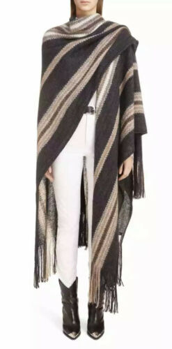 EUC $890 Isabel Marant Gray Brown Kanuka Mohair Wo