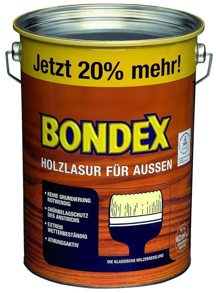 Bondex Holzlasur für - Außen - für 4,8 l, kiefer d1987d