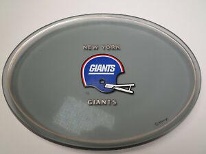 1970-039-s-New-York-Giants-Houze-Art-Smoked-Glass-Ashtray-Candy-Dish-NFL-Football