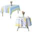 miniature 11 - Imperméable Nappe Home Table de salle à manger Protecteur Rond/Rectangulaire Table Housse