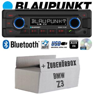 Autoradio-fur-BMW-Z3-Radio-Blaupunkt-Doha-Bluetooth-CD-MP3-USB-Einbauset