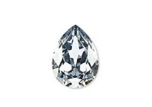 1 Swarovski crystal rhinestone embellishment 18x13mm Pear stone