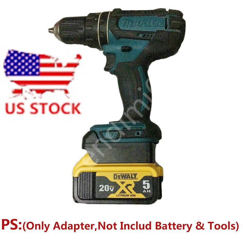 1x Makita 18V Cordless Tools Adapter Work with DEWALT 20V Sl