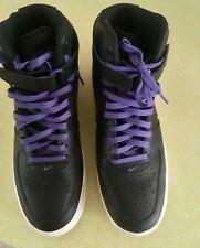 6503c2f5c76d item 2 Size 13 Nike Air Force 1 High  07 LV8 Black Court Purple Sail  806403-014 -Size 13 Nike Air Force 1 High  07 LV8 Black Court Purple Sail  806403-014