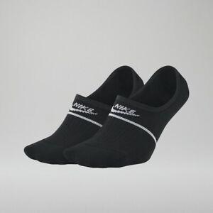 f74150f97 Nike Sneaker Sox Essential No Show Socks 4 Pair 2 Pack Footie Black ...