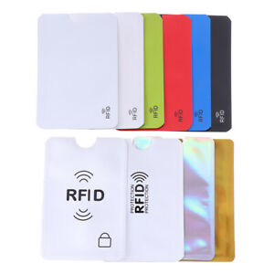 10PCS-Credit-Card-Protector-Secure-Sleeve-RFID-Blocking-ID-Holder-Foil-ShieldIHS