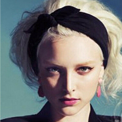 2PC//Set Matching Mum /& Baby Child Rabbit Ears Hair Tie Bow Headband Hair Knot G