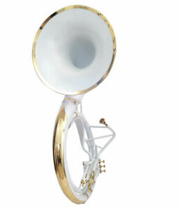 Sousaphone-24-inch-White-color