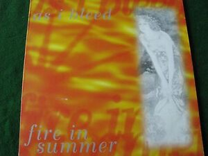 AS-I-BLEED-Fire-In-The-Summe-10-034-Vinyl-Hardcore-with-Insert