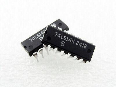 2 pieces SN74LS14N Inverters Hex Schmitt-Trigger 74LS14 IC